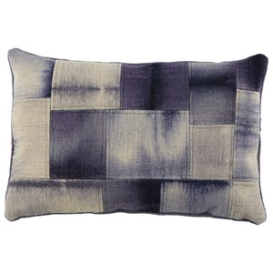 Signature Design by Ashley Pillows Gilbert Blue/Cream Pillow