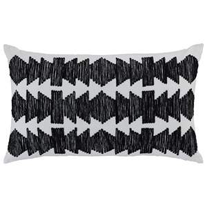 Signature Design by Ashley Pillows Titus Black/Ivory Pillow