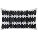 Ashley (Signature Design) Pillows Titus Black/Ivory Pillow - Item Number: A1000469P
