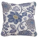 Signature Design by Ashley Pillows Miriam Blue/Cream Pillow - Item Number: A1000485P