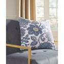 Signature Design by Ashley Pillows Miriam Blue/Cream Pillow