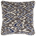 Signature Design by Ashley Pillows Kenley Blue/Brown Pillow - Item Number: A1000489P