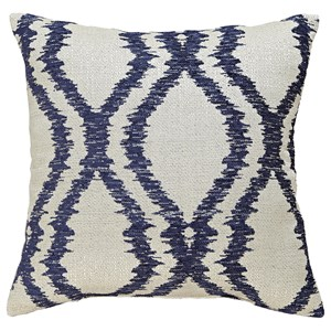 Signature Design by Ashley Pillows Estelle - Blue Pillow