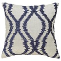 Signature Design by Ashley Pillows Estelle - Blue Pillow - Item Number: A1000490P