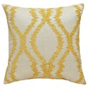 Signature Design by Ashley Pillows Estelle - Yellow Pillow - Item Number: A1000491P