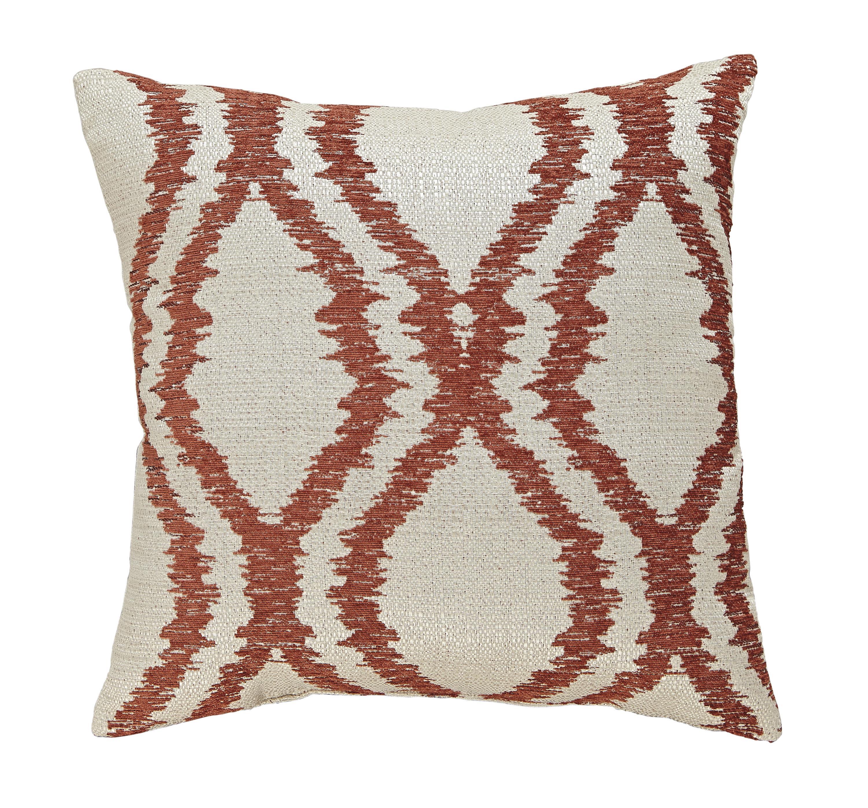 Signature Design by Ashley Pillows Estelle - Orange Pillow - Item Number: A1000492P