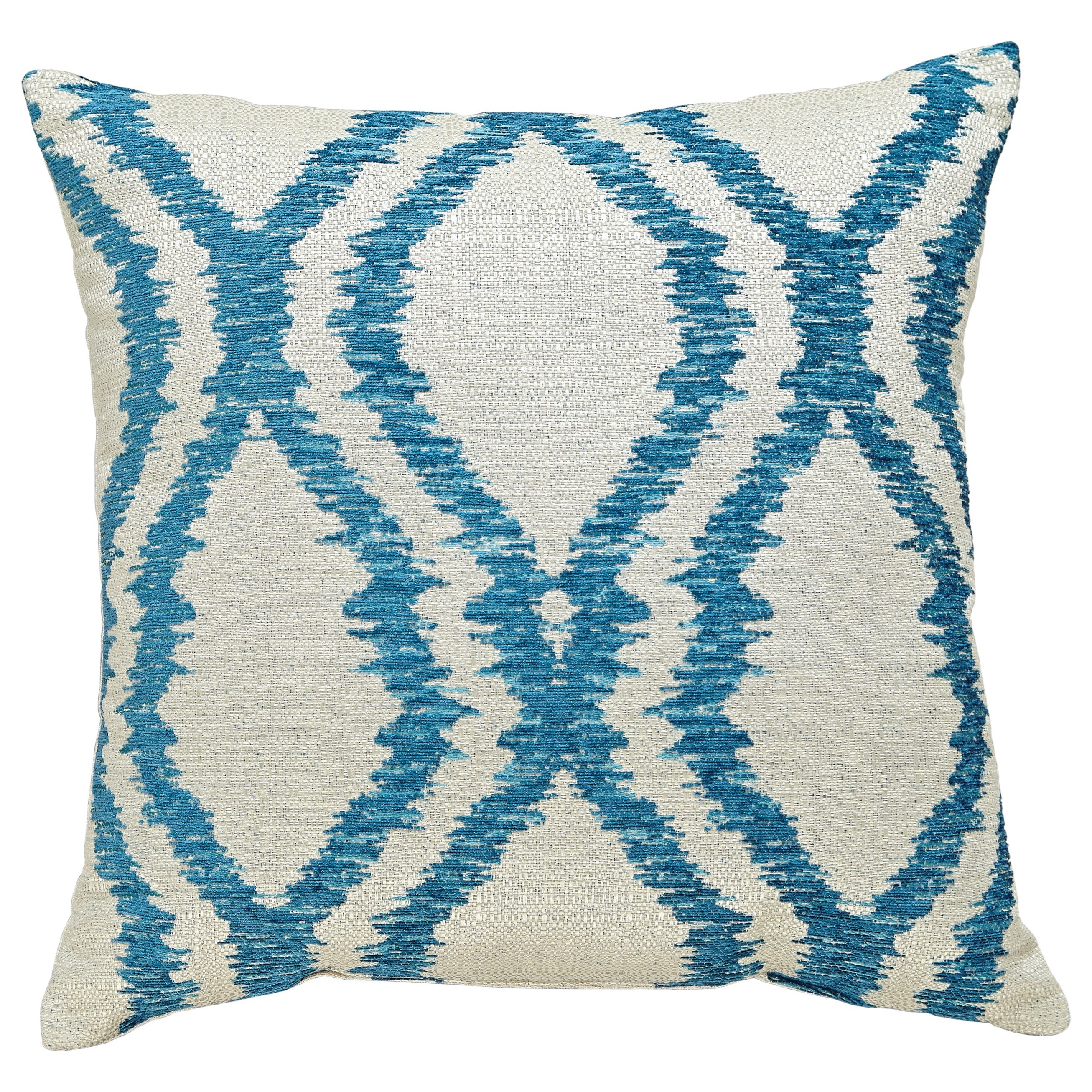 Signature Design by Ashley Pillows Estelle - Turquoise Pillow - Item Number: A1000493P