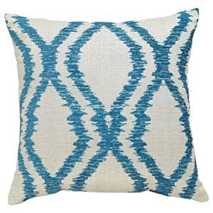 Signature Design by Ashley Pillows Estelle - Turquoise Pillow