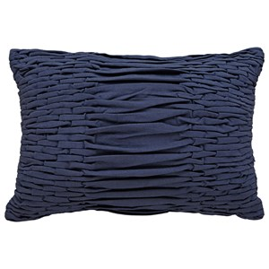 Signature Design by Ashley Pillows Nellie Navy Pillow
