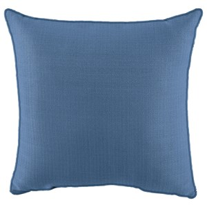 Signature Design by Ashley Pillows Perrin Blue Pillow