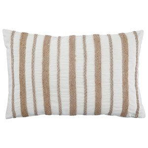 Ashley Signature Design Pillows Zackery Natural Pillow