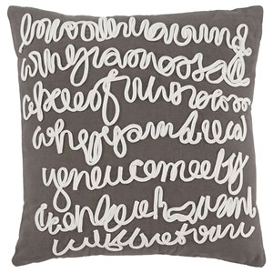 Signature Design by Ashley Pillows Alfie - Gray Pillow Cover