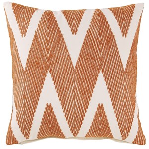 Carlina Orange Pillow