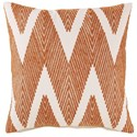 Signature Design by Ashley Pillows Carlina Orange Pillow - Item Number: A1000560P