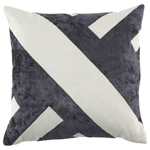 Signature Design by Ashley Pillows Ambrea Charcoal Pillow
