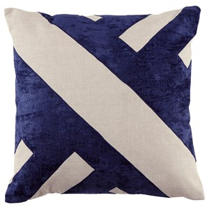 Signature Design by Ashley Pillows Ambrea Navy Pillow