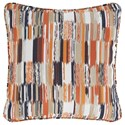 Signature Design by Ashley Pillows Jadran Multicolor Pillow - Item Number: A1000594P