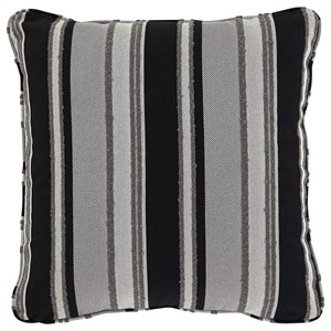 Samuel Black/Tan Pillow