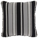 Signature Design by Ashley Pillows Samuel Black/Tan Pillow - Item Number: A1000601P
