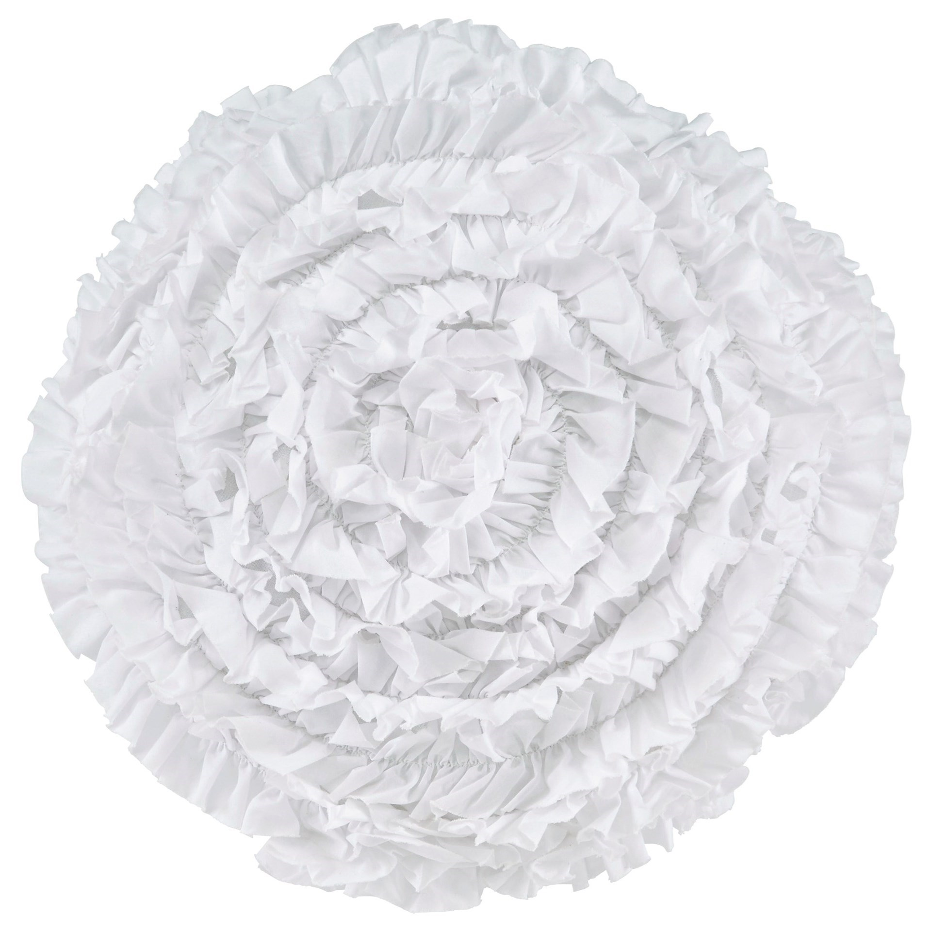 Signature Design by Ashley Pillows Bloompier - White Pillow - Item Number: A1000636P