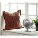 Signature Design by Ashley Pillows Brennen - Brown Pillow Cover