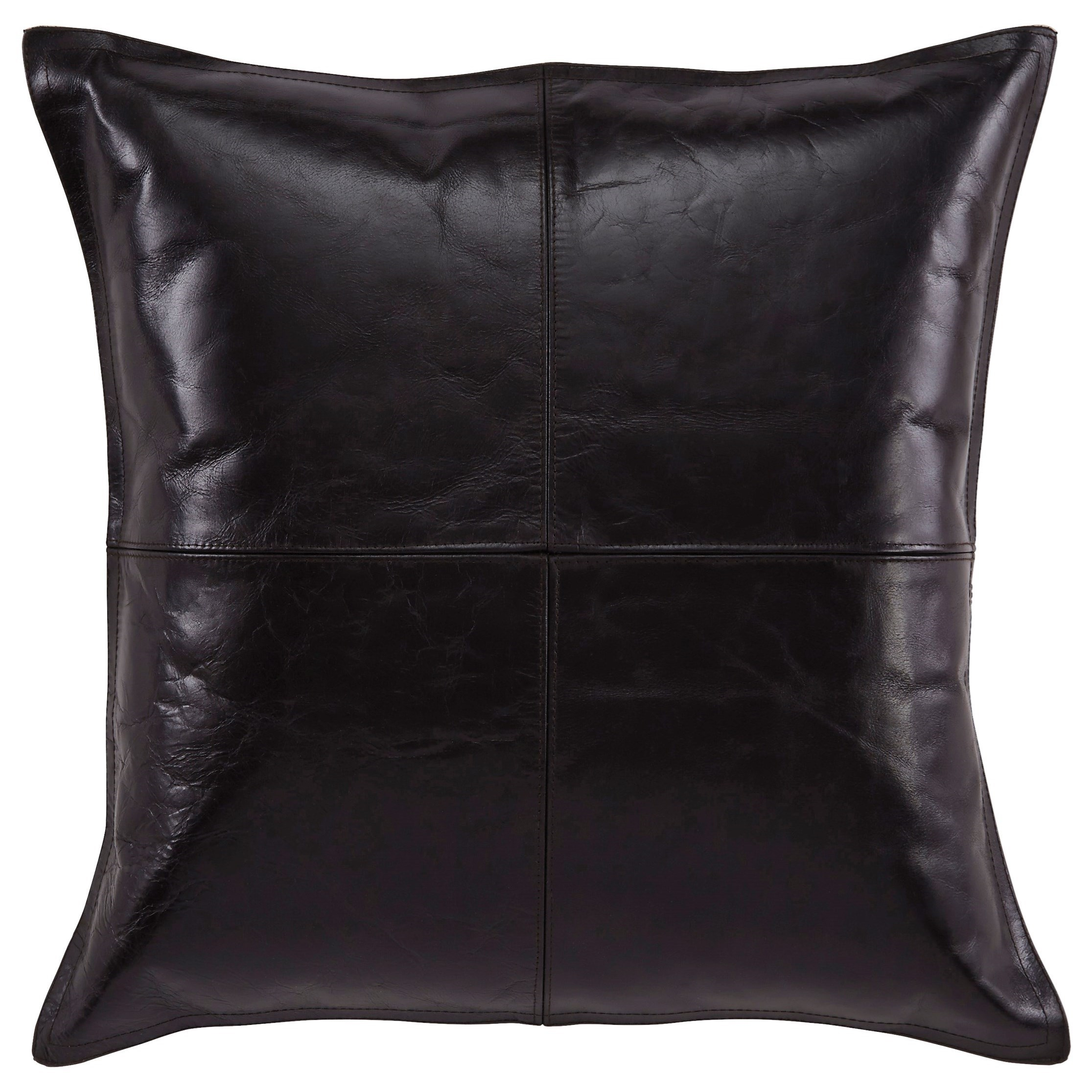 Signature Design by Ashley Pillows Brennen - Black Pillow Cover - Item Number: A1000638P