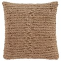 Signature Design by Ashley Pillows Tryton - Natural Pillow Cover - Item Number: A1000642P