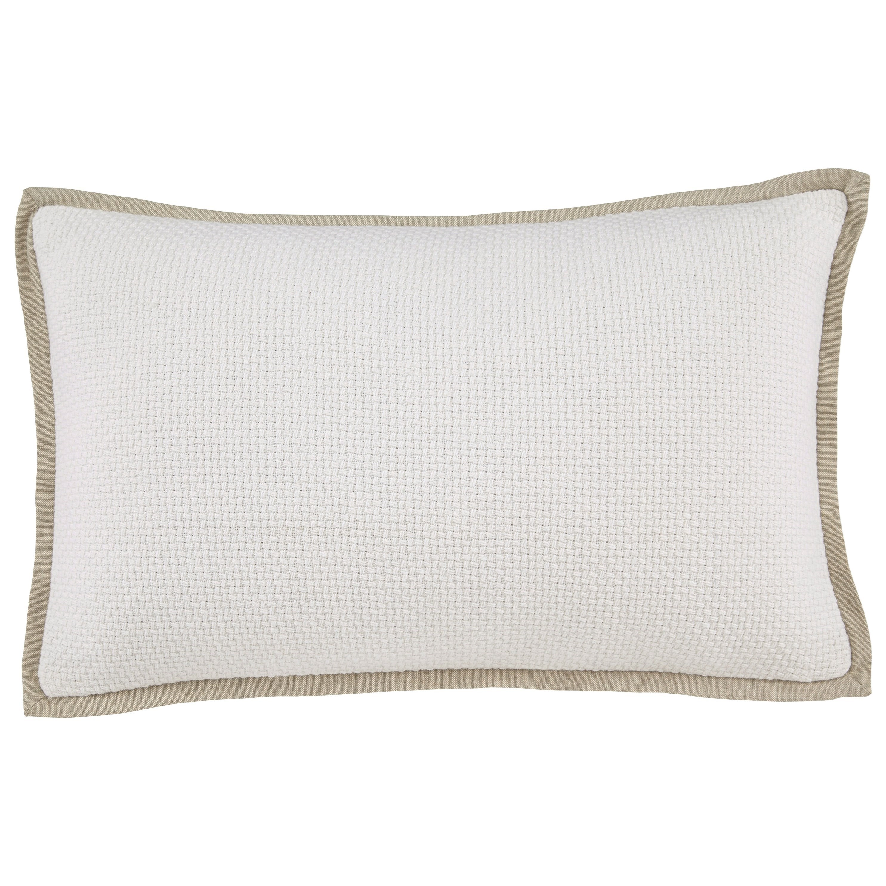 Signature Design by Ashley Pillows Leonie - White Pillow - Item Number: A1000646P