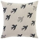 Signature Design by Ashley Pillows Draven Gray/Natural Pillow Cover - Item Number: A1000650P