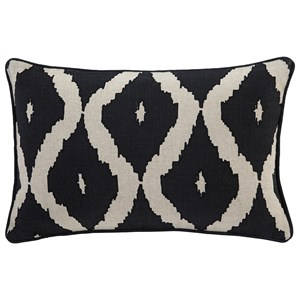 Ashley Signature Design Pillows Tildy - Black/Natural Lumbar Pillow