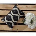 Signature Design by Ashley Pillows Tildy - Black/Natural Lumbar Pillow
