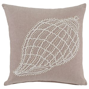 Signature Design by Ashley Pillows Anshel Natural Pillow Cover