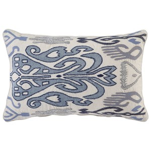 Signature Design by Ashley Pillows Orono Blue Pillow