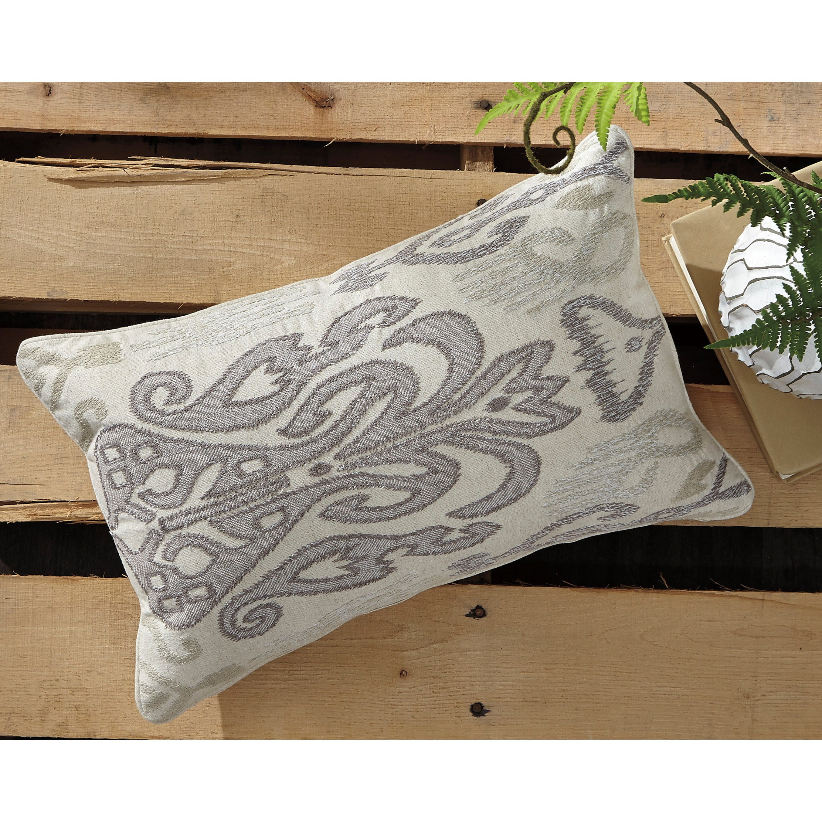 Signature Design by Ashley Pillows Orono Natural Pillow - Olindeu0026#39;s Furniture - Throw Pillows