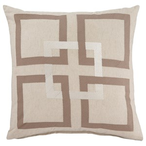 Signature Design by Ashley Pillows Sebec Natural Pillow Cover