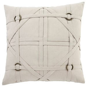 Signature Design by Ashley Pillows Leonard - Linen Pillow Cover
