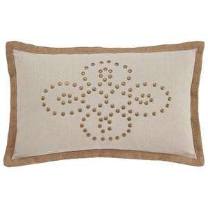 Ashley Signature Design Pillows Castine - Quartz Lumbar Pillow