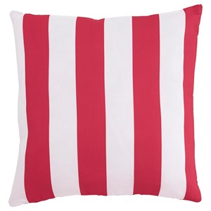Signature Design by Ashley Pillows Hutto Dark Pink/White Pillow