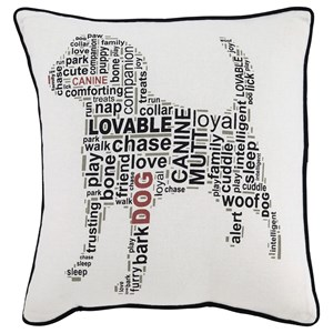 Ashley Signature Design Pillows Beals White/Black Pillow