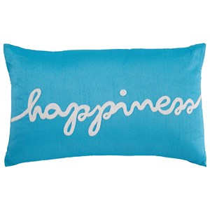 Ashley Signature Design Pillows Lakelyn Turquoise Pillow