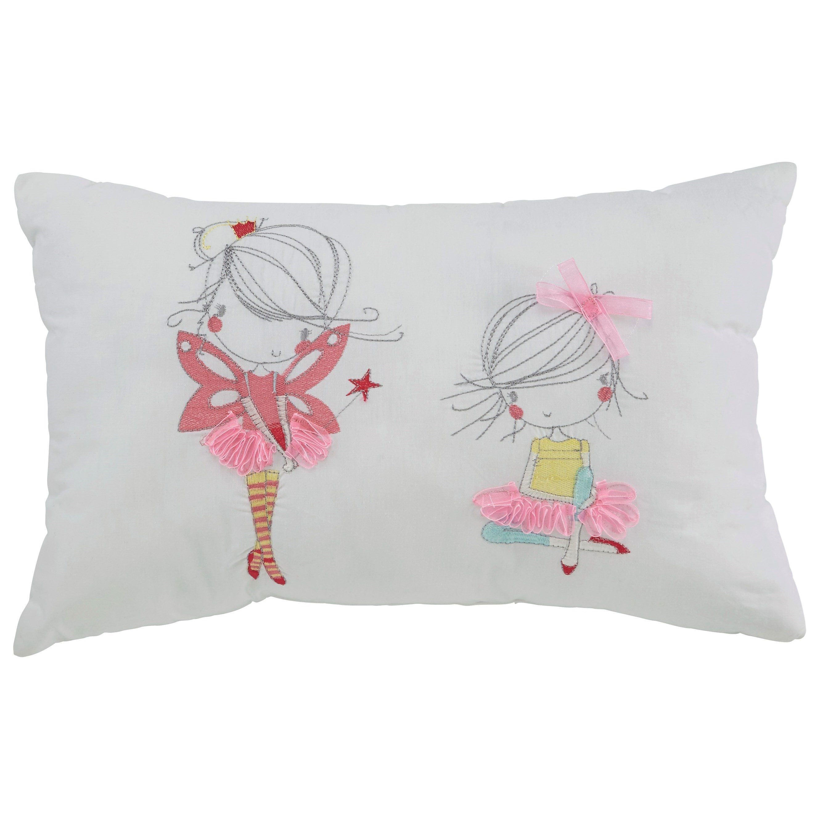 Signature Design by Ashley Pillows Mariaville White Pillow - Item Number: A1000717P