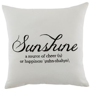 Signature Design by Ashley Pillows Sunshine - White Pillow