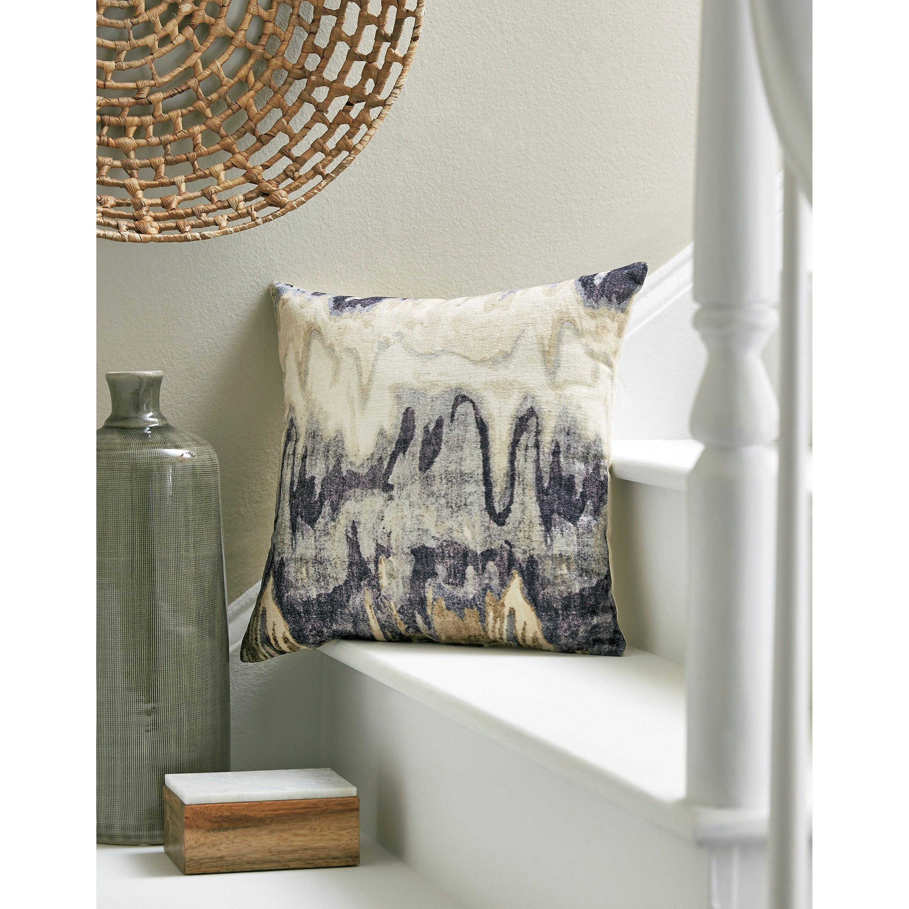 Ashley Signature Design Pillows A1000765P Aneko Navy Blue