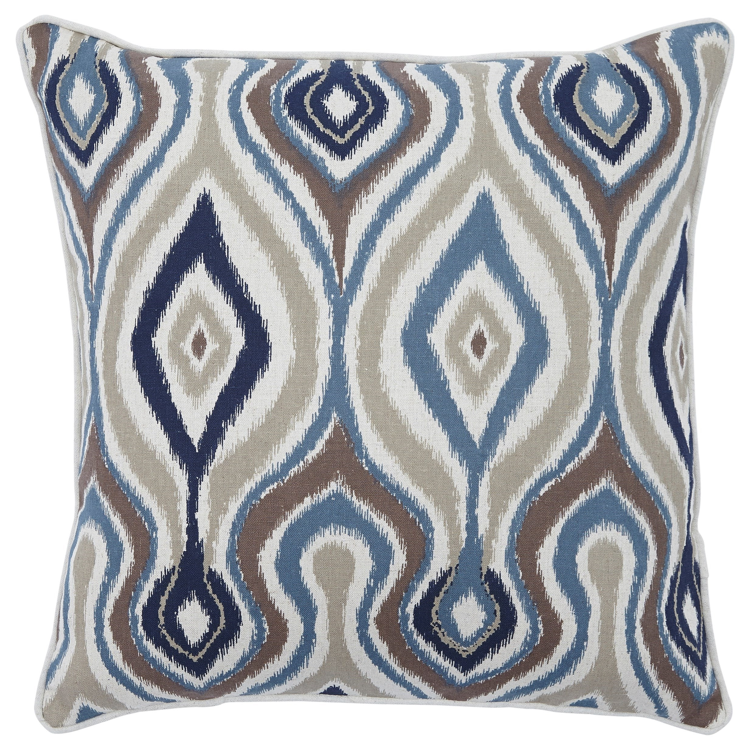 Russell Brown/Blue Pillow