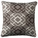 Signature Design by Ashley Pillows Raymond Brown/Cream Pillow - Item Number: A1000778P