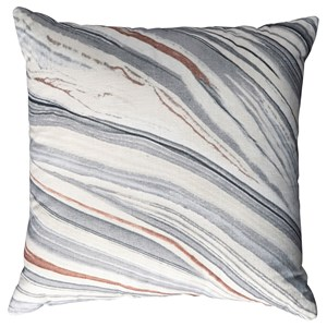 Signature Design by Ashley Pillows Miquel Gray/Cream Pillow