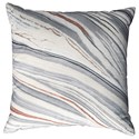 Signature Design by Ashley Pillows Miquel Gray/Cream Pillow - Item Number: A1000781P