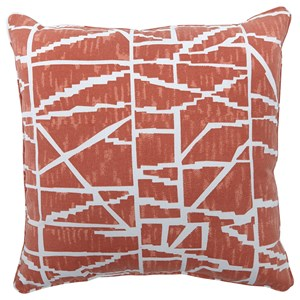 Signature Design by Ashley Pillows Granville Burnt Orange Pillow