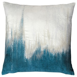 Signature Design by Ashley Pillows Madalene Teal Pillow