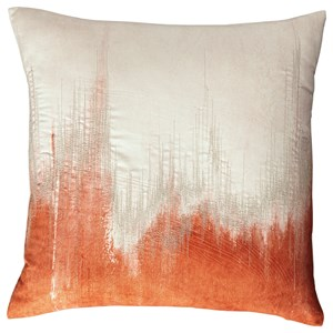 Signature Design by Ashley Pillows Madalene Orange Pillow
